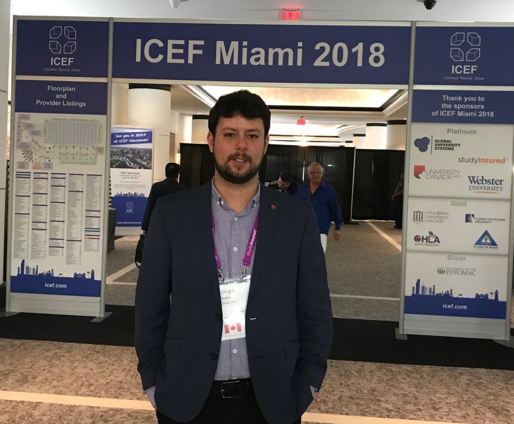 Showcasing the Success of Canada at ICEF Miami 2018 as #1 destination for international students